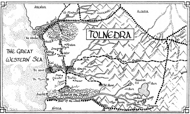 Mappa di Tolnedra
