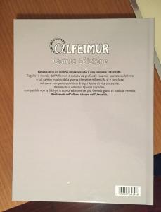 Retro di copertina di Alfeimur Quinta Edizione